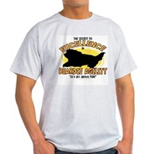 The Secret to Beardie Agility T-Shirt