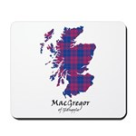 Map - MacGregor of Glengyle Mousepad