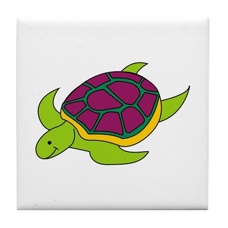 Turtle Tile Coaster