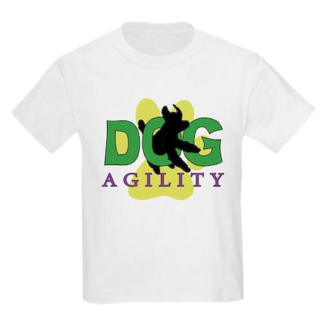 Dog Agility Kids Light Tee Shirt