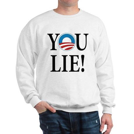Obama lies Sweatshirt