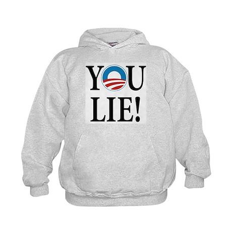Obama lies Kids Hoodie