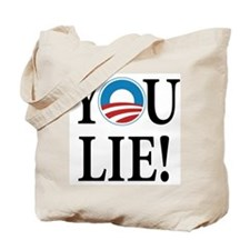 Obama lies Tote Bag