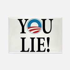 Obama lies Rectangle Magnet