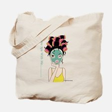Curling Coco Tote Bag