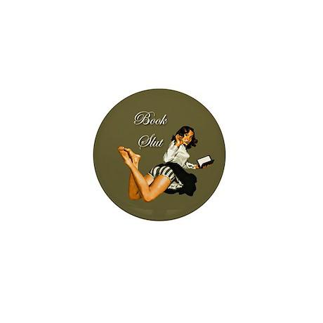 Book Slut Mini Button