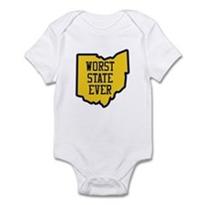OSU Worst State Ever Body Suit