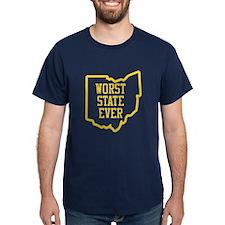 OSU Worst State Ever 3 T-Shirt