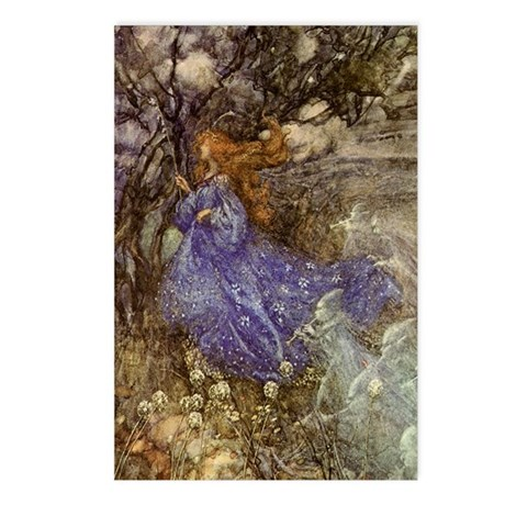 Rackham Fairy Postcards (Package of 8)