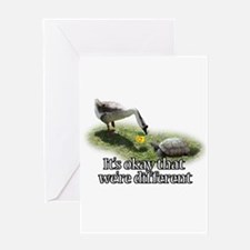 Cute Turtle valentine%27s day Greeting Card