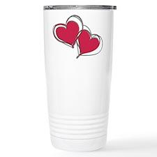 TWO HEARTS AS ONE Travel Coffee Mug