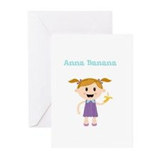 Anna Banana Greeting Cards (Pk of 10)