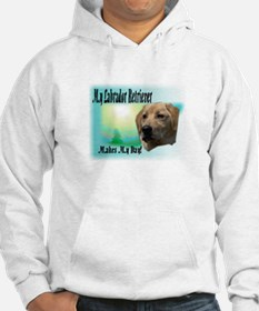 My Labrador Makes My Day Hoodie