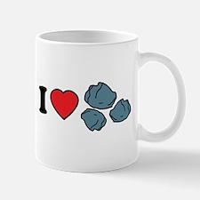 I Love Rocks Mug