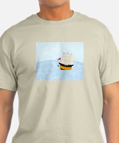 Ship at Sea T-Shirt