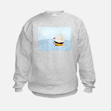 Ship at Sea Sweatshirt