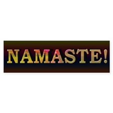Namaste Honor Spirit - Bumper Sticker