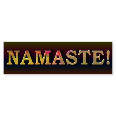 Namaste Honor Spirit - Sticker