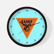 Surf Police NJ Wall Clock