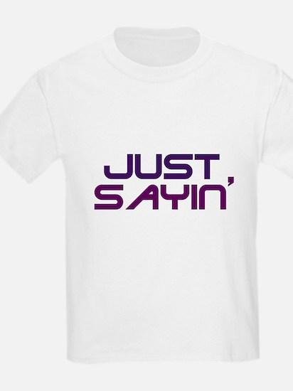 Unique Just text T-Shirt