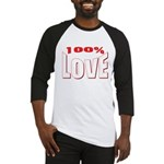 100% Love Baseball Jersey