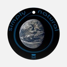 Simply Natural Earth Ornament (Round)