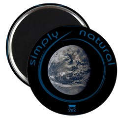 """Simply Natural Earth 2.25"""" Magnet (10 pack)"""
