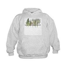 Cute Forest green Hoodie