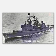 USS COONTZ Rectangle Decal