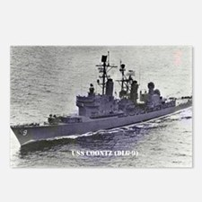 USS COONTZ Postcards (Package of 8)