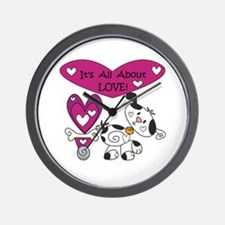 All About Love Wall Clock