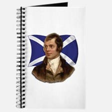 Robert Burns with Scottish Flag Journal