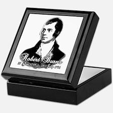 Robert Burns Commemorative Keepsake Box