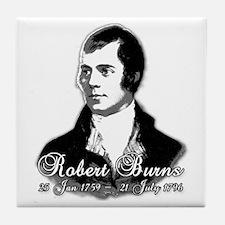 Robert Burns Commemorative Tile Coaster