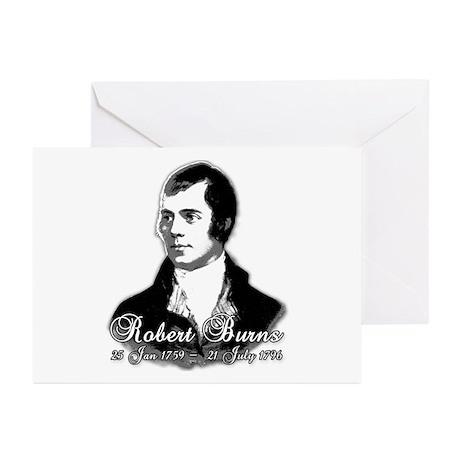 Robert Burns Commemorative Greeting Cards (Pk of 1