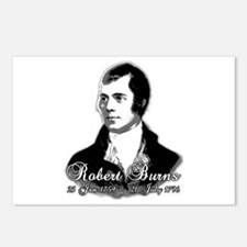 Robert Burns Commemorative Postcards (Package of 8