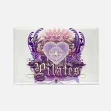 Find Your Core Pilates Rectangle Magnet
