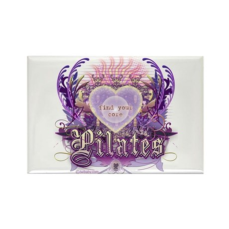 Find Your Core Pilates Rectangle Magnet (10 pack)