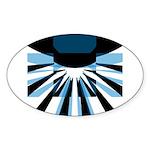 Composite Logo Oval Sticker (10 pk)