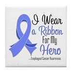 Hero - Esophageal Cancer Tile Coaster