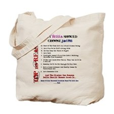 Bella and Jacob New Moon Tote Bag