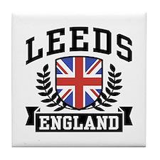 Leeds England Tile Coaster