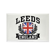 Leeds England Rectangle Magnet