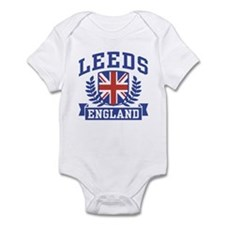 Leeds England Infant Bodysuit