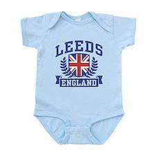Leeds England Infant Bodysuit
