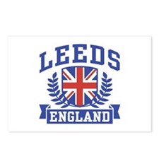 Leeds England Postcards (Package of 8)