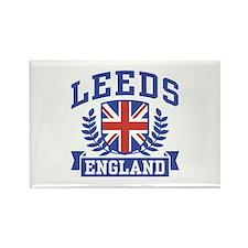 Leeds England Rectangle Magnet