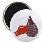 """Hit the Gym 2.25"""" Magnet (10 pack)"""