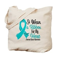 Hero - Ovarian Cancer Tote Bag
