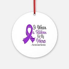 Hero - Pancreatic Cancer Ornament (Round)